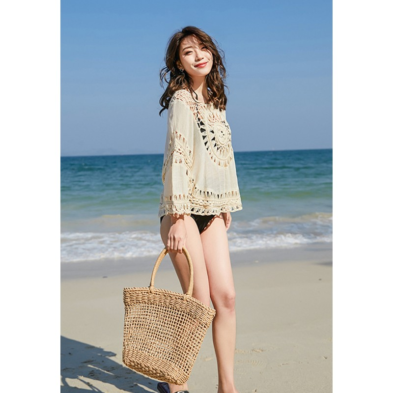 BC9804 Lady Knitted Beachwear Cover-up