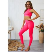 BYG8075 Lady Quick Drying Running Fitness Yoga Sports Set