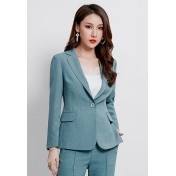 LCC8077 Korean Style Autumn_Winter Lady Long Sleeve Suit