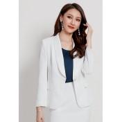 LCC8078 Korean Style Autumn_Winter Lady Long Sleeve Suit