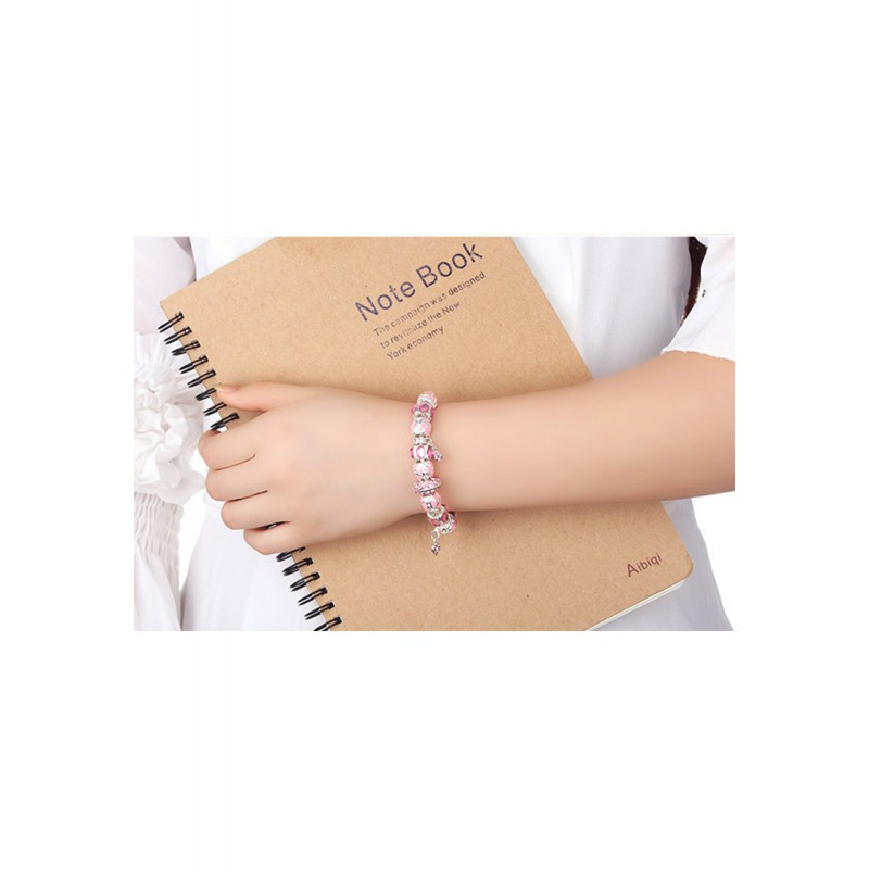 LCH6003 Romantic Heart Charm Bracelet