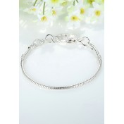 LCH6011 Basic Heart Clasp Bracelet