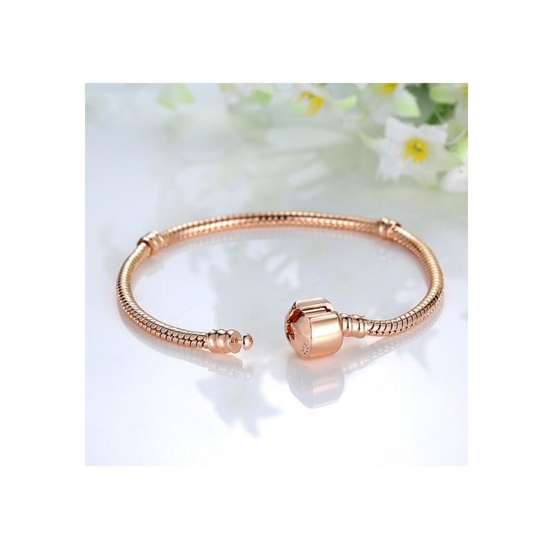 LCH6025 Basic Rose Gold Bracelet