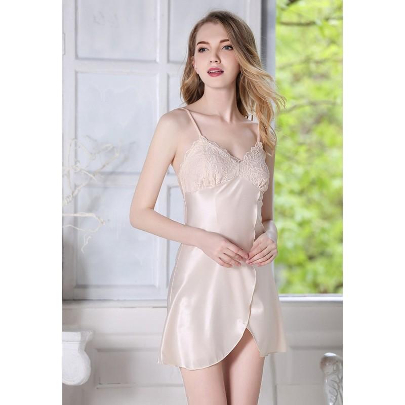 LCL9507 European Style Lady Sexy Lace Sleepwear