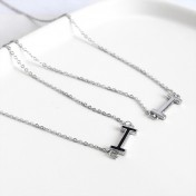 LDR8093 S925 Silver Trendy Necklace