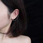LDR8103 S925 Silver Trendy Earrings