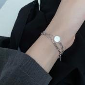 LDR8135 S925 Silver Trendy Bracelet