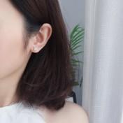 LDR8139 S925 Silver Trendy Earrings