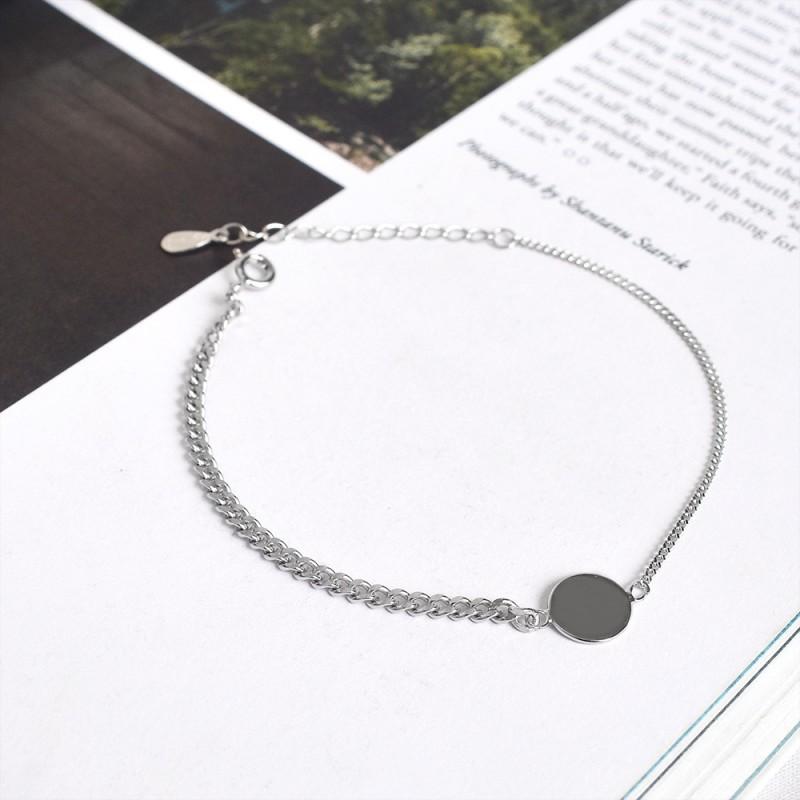 LDR8141 S925 Silver Globe Bracelet