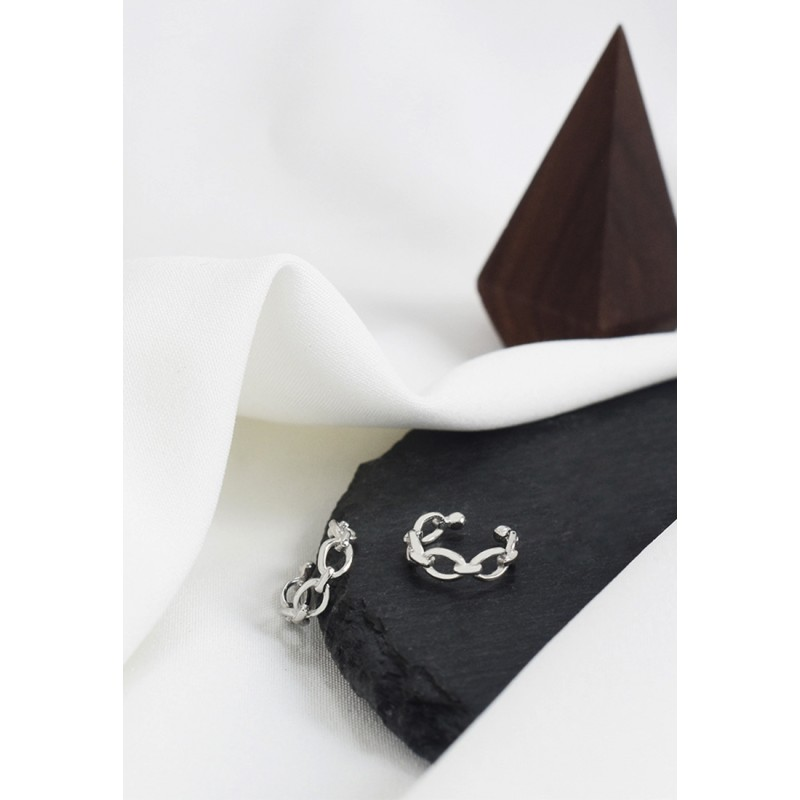 LDR9120 S925 Silver Romantic Heart Necklace