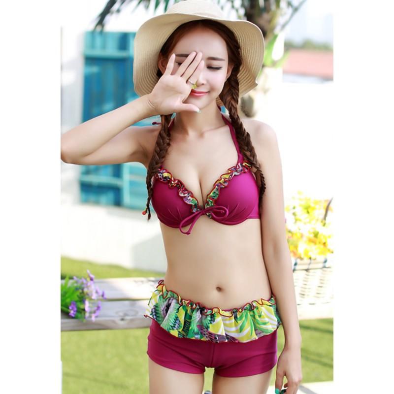 LLA5067-European Style Swimsuit and Bikini Set
