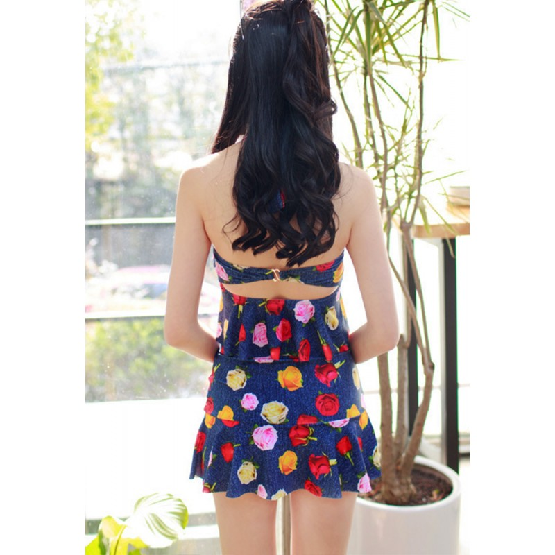 LLA5075-European Style Lady Two-Piece Swimsuit