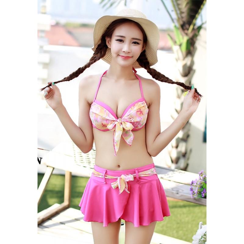 LLA5078-European Style Lady Two-Piece Swimsuit