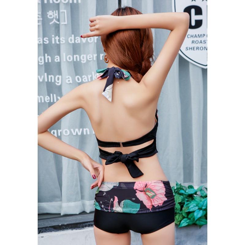 LLA5109-European Style Swimsuit and Bikini Set