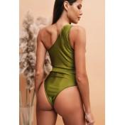 LLA5151-European Style Lady Swimsuit