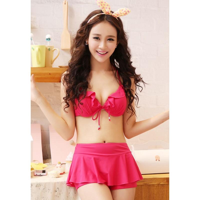 LLA5199-European Style Swimsuit and Bikini Set