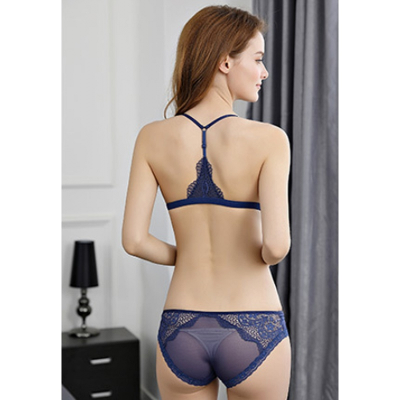 LMM1027 Lady Sexy Lace Bra and Panty Set