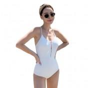 LSN4004 Lady Korean Style One Piece Swimwear