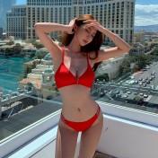 LSN4072 Lady Korean Style Sexy Bikini Swimwear