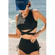 LSN7011 Korean Lady Two Piece Wired Bikini