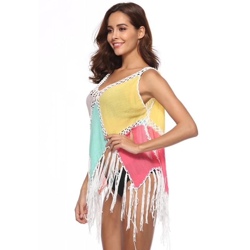 LTH4104-European Style Beach Casual Outer Dress