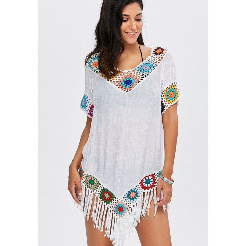 LTH4105-European Style Beach Casual Outer Dress