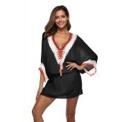 LTH4116-European Style Beach Casual Outer Dress