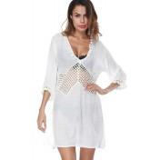 LTH4118-European Style Beach Casual Outer Dress