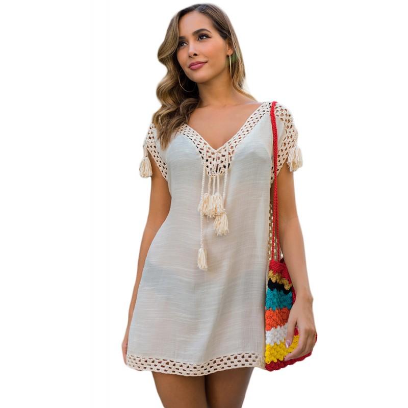 LTH4145-European Style Beach Casual Outer Dress