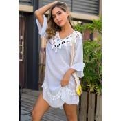 LTH4158-European Style Beach Casual Outer Dress