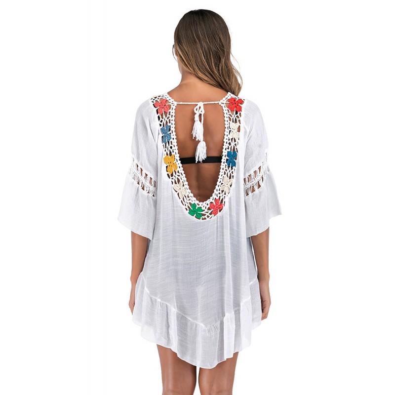 LTH4178-European Style Beach Casual Outer Dress