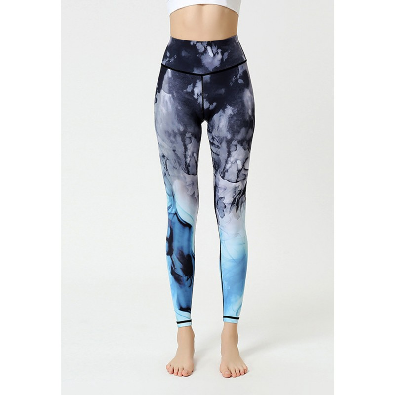 ZYG1301a-Lady Quick Drying Running Fitness Yoga Leggings
