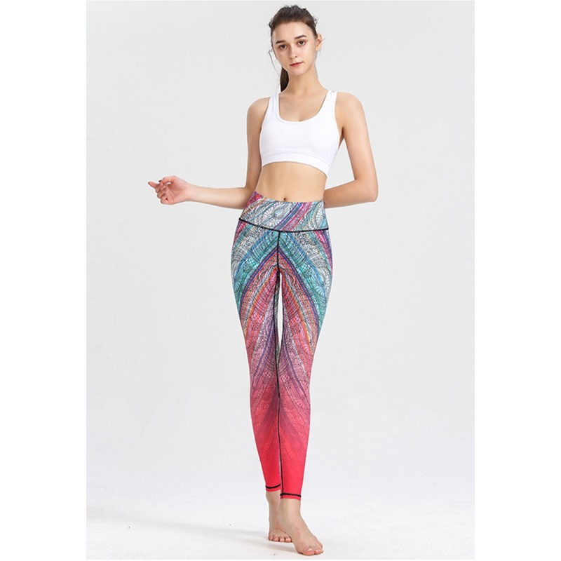 ZYG1303b-Lady Quick Drying Running Fitness Yoga Leggings