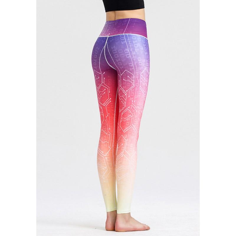 ZYG1305b-Lady Quick Drying Running Fitness Yoga Leggings