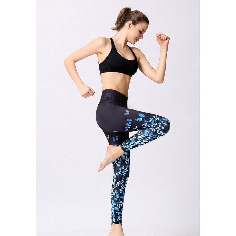 ZYG1306a-Lady Quick Drying Running Fitness Yoga Leggings