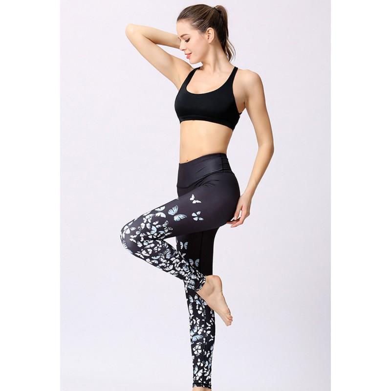 ZYG1306b-Lady Quick Drying Running Fitness Yoga Leggings