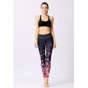 ZYG1306d-Lady Quick Drying Running Fitness Yoga Leggings