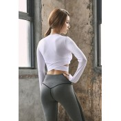 ZYG3012_Lady Quick Drying Running Fitness Yoga Sports Top